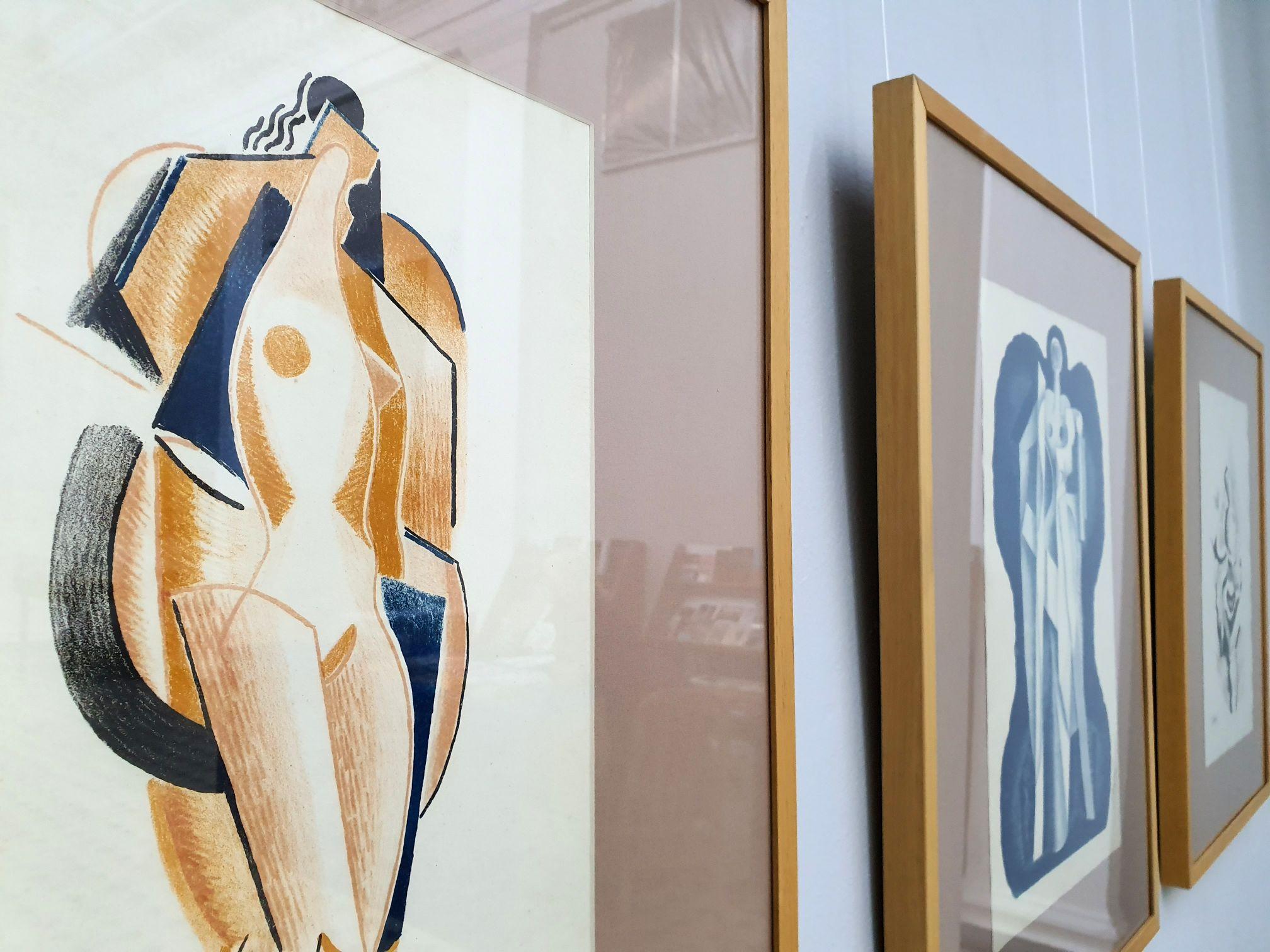 Церемонія передачі в дарунок Національному художньому музею України графіки Олександра Архипенка