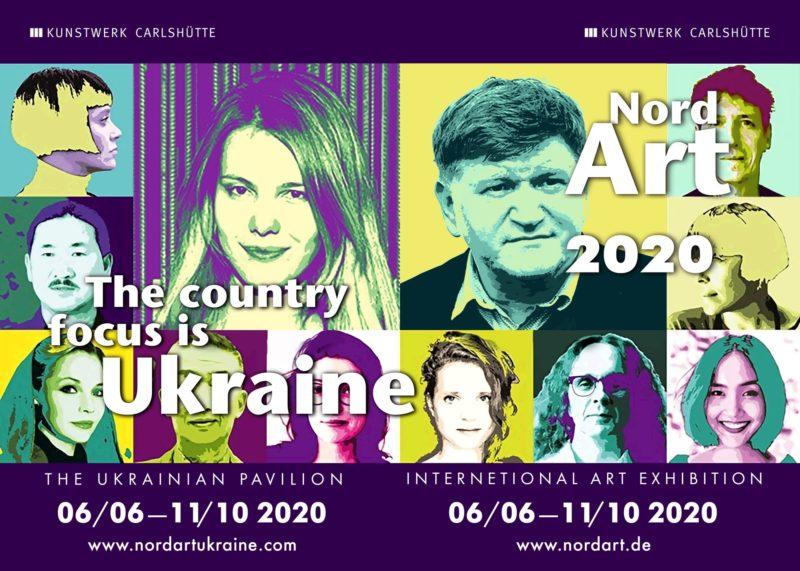 Україна — центральна тема щорічної міжнародної виставки сучасного мистецтва NordArt 2020