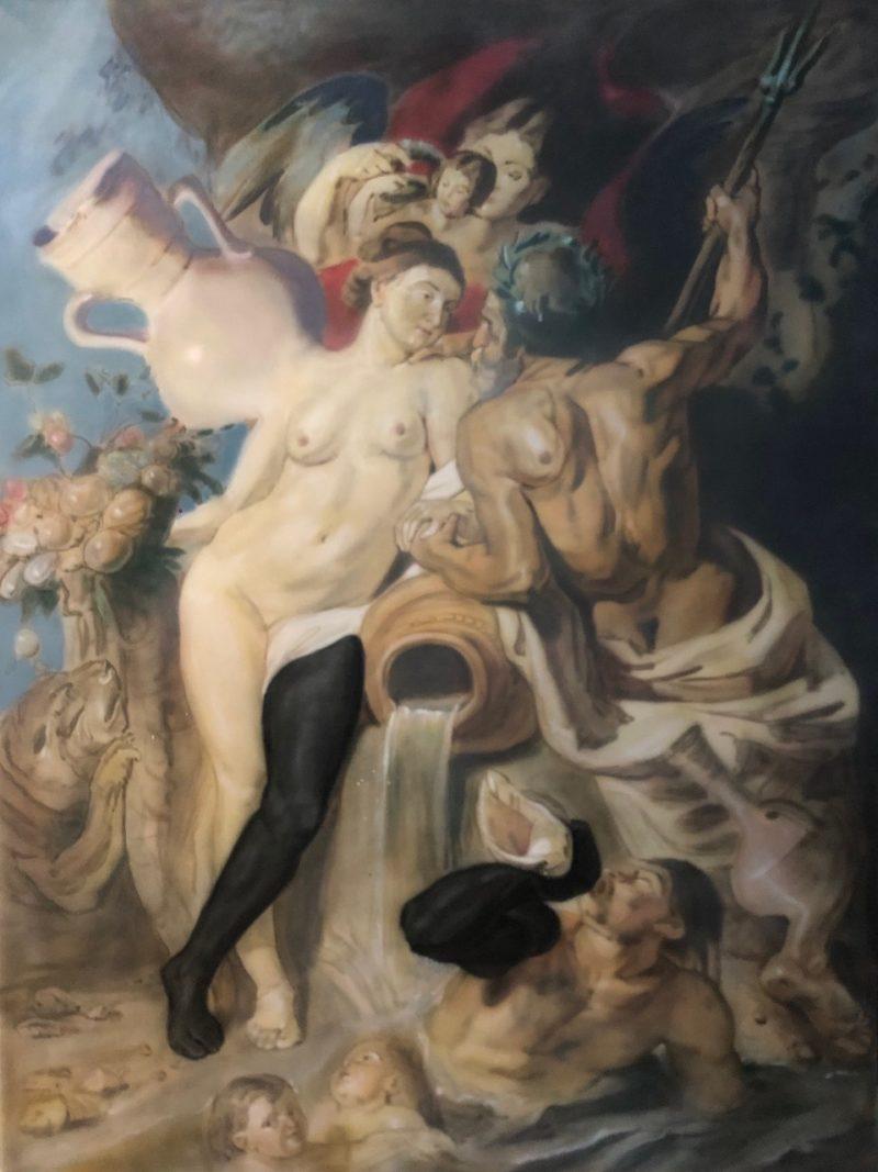 «Черное зеркало» Юрий Сивирин - Bereznitsky Art Foundation