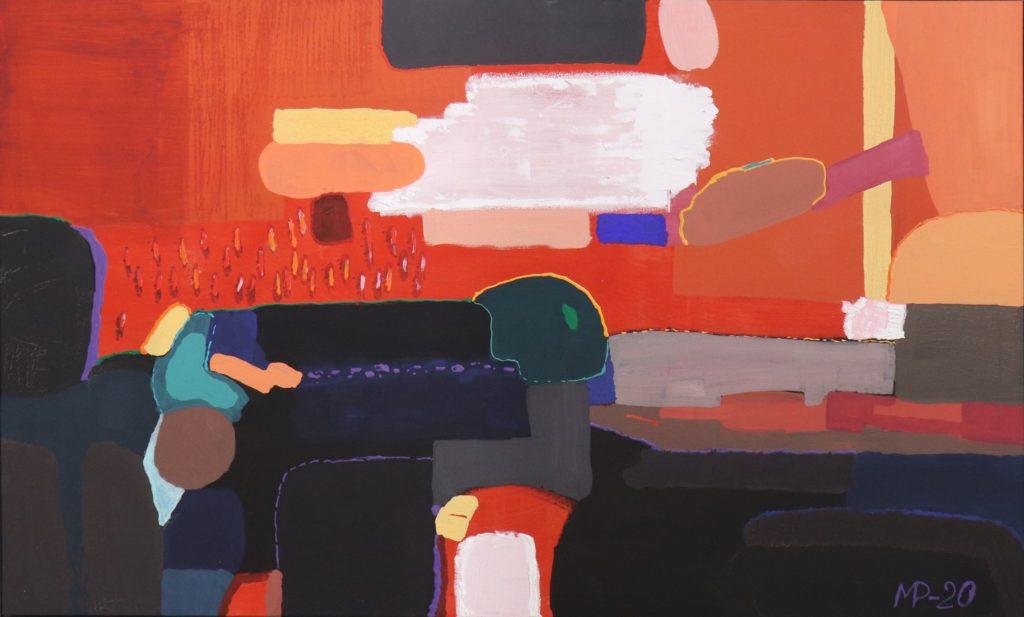 Галерея «АВС-арт» презентує виставку «МИХАЙЛО ПОЖИВАНОВ / Живопис»