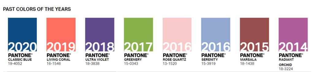 Pantone назвав два кольори 2021 року