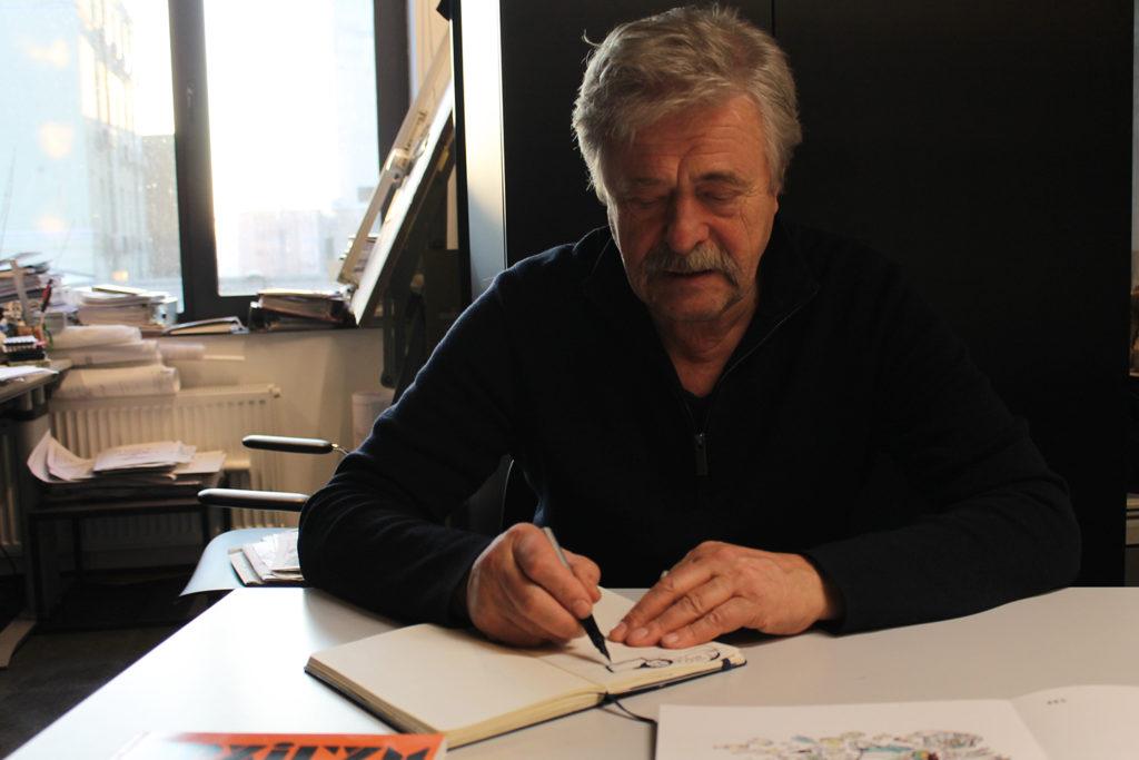 Віктор Кудін: карикатура - дзеркало історії